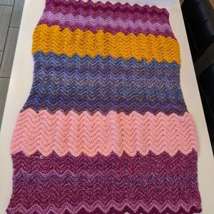 Small Knit Blanket